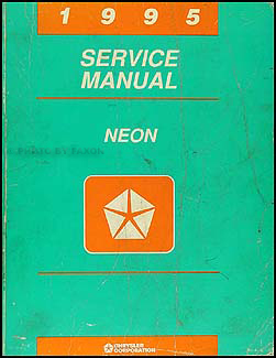 1995 Neon Shop Manual Original