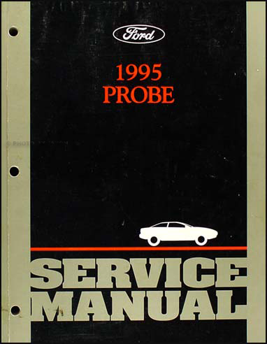 1995 Ford Probe Shop Manual Original