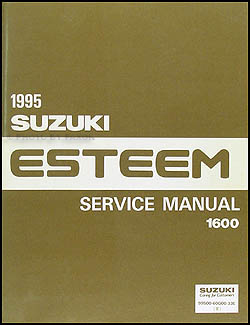 1995 Suzuki Esteem 1600 Repair Manual Original