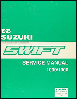 1995 Suzuki Swift 1000/1300 Repair Manual Original