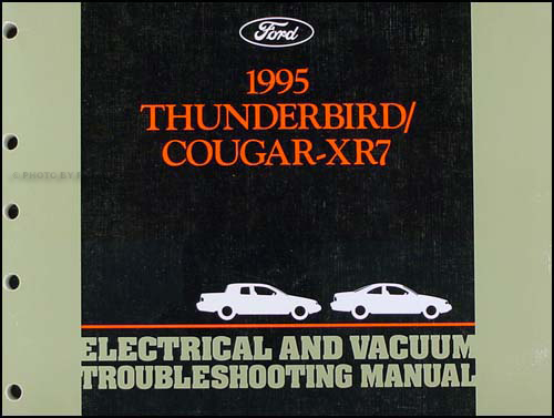 1995 Ford Thunderbird Mercury Cougar Electrical Troubleshooting Manual