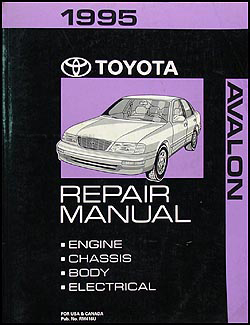 1995 Toyota Avalon Wiring Diagram Manual Original