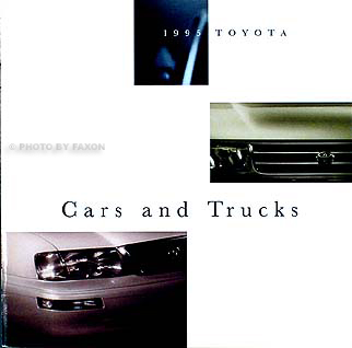 1995 Toyota Original Sales Catalog