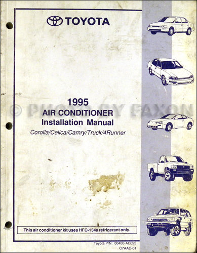 1995 toyota camry wiring diagram 1995 toyota a c installation manual original corolla celica camry 1995 toyota camry alternator wiring diagram 1995 toyota a c installation manual