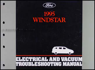 1995 Ford Windstar Electrical & Vacuum Troubleshooting Manual Original