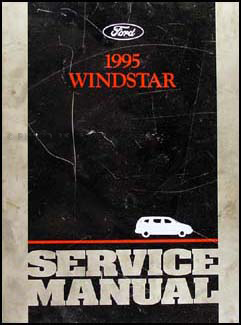 1995 Ford Windstar Repair Manual Original