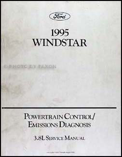 1995 Ford Windstar 3.8L Preliminary Engine Emissions Diagnosis Manual