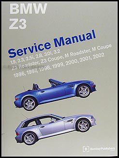 1996-2002 BMW Z3 Bentley Repair Manual