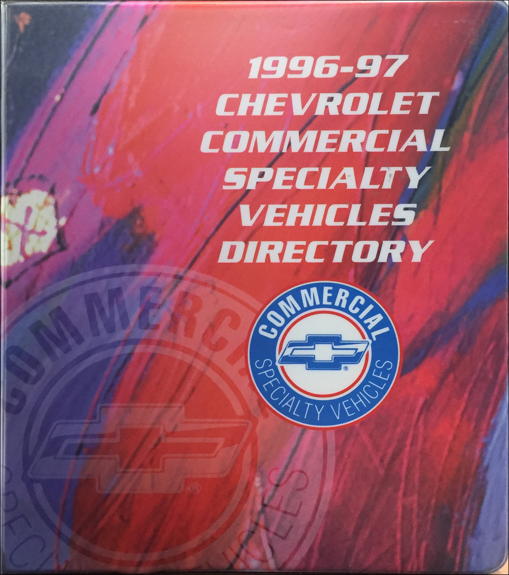 1996-1997 Chevrolet Commercial Specialty Vehicles Dealer Album $139.00