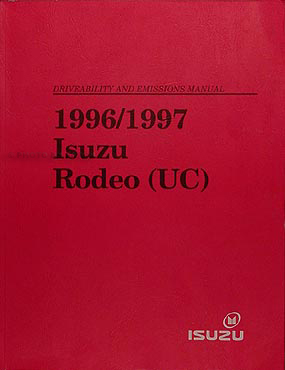 1996/1997 Isuzu Rodeo Honda Passport Driveability Emissions Repair Shop Manual