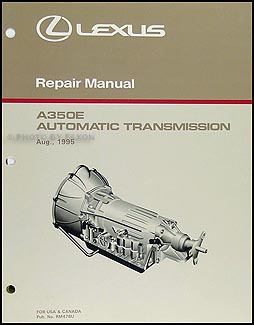 1996-1997 Lexus GS 300 Automatic Transmission Overhaul Manual GS300