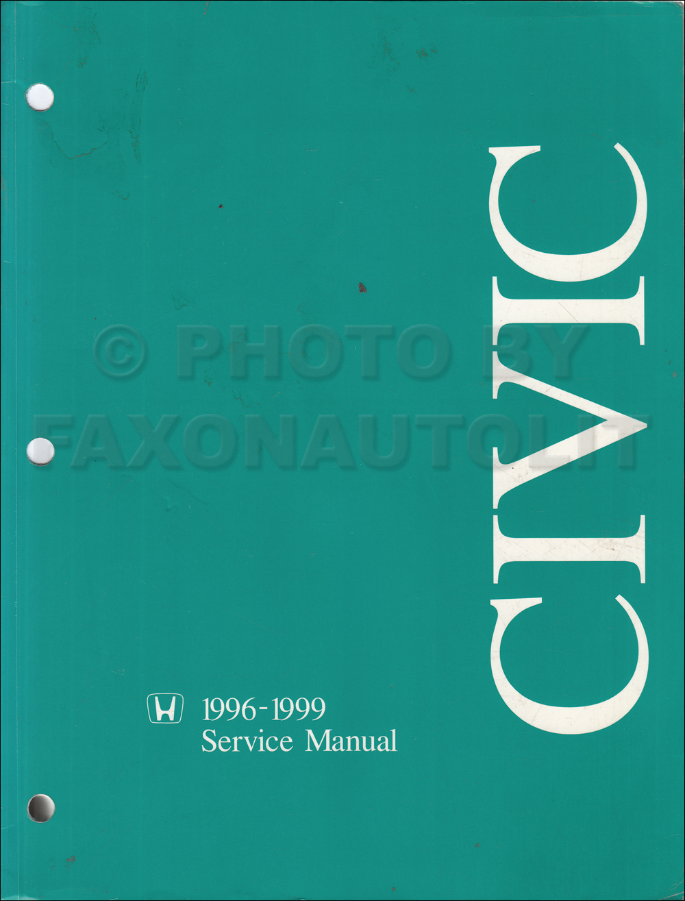 1996-2000 Honda Civic Repair Manual Original