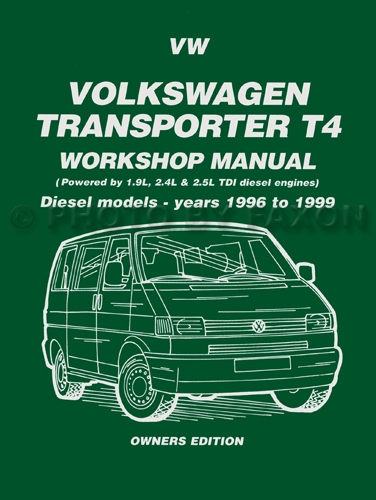 VW Transporter Owners Workshop Manual 1954-1967