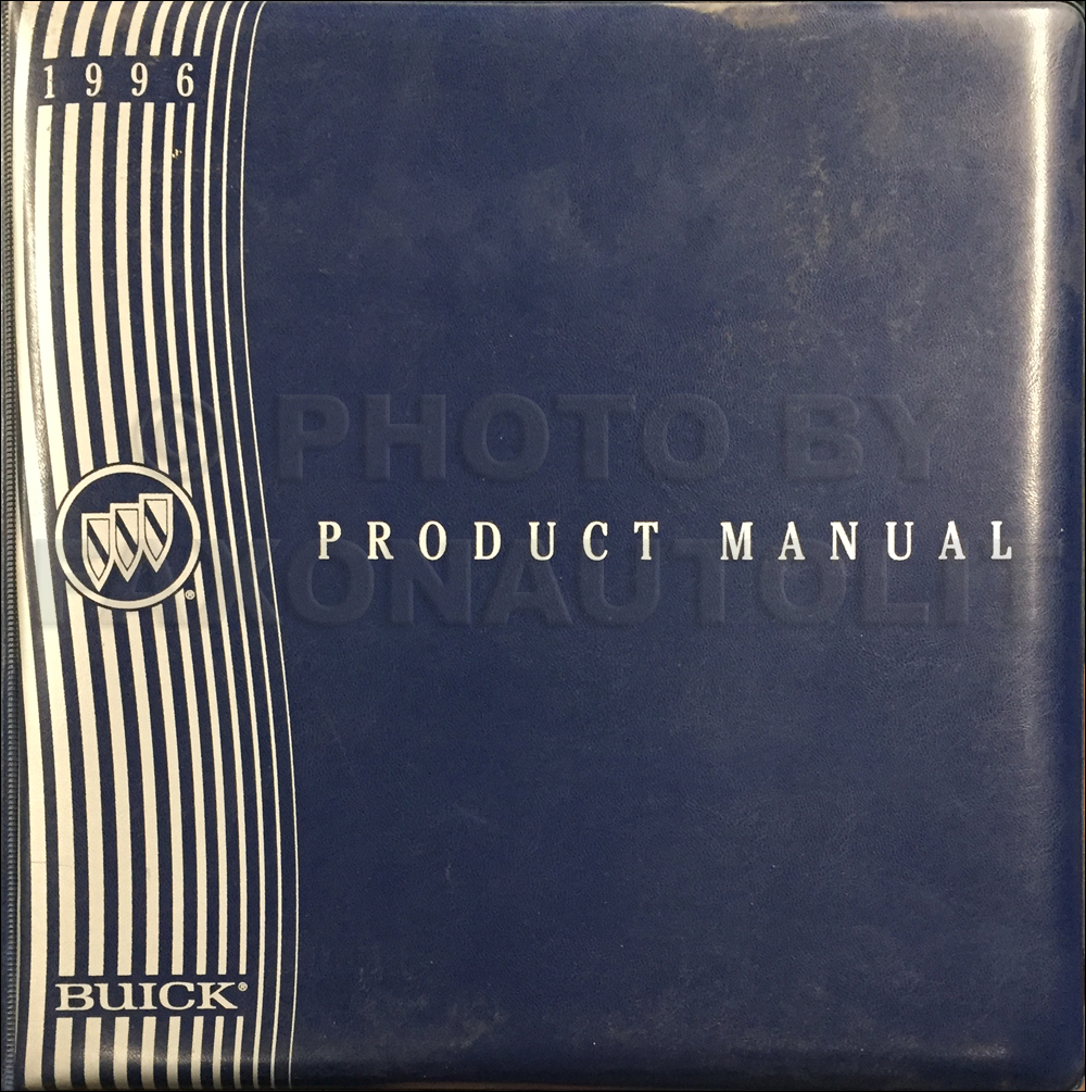 1996 Buick Color & Upholstery, Data Book Dealer Album Original