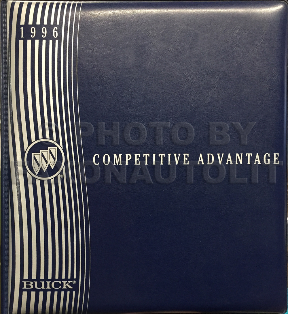 1996 Buick Competitive Comparison Dealer Album Original