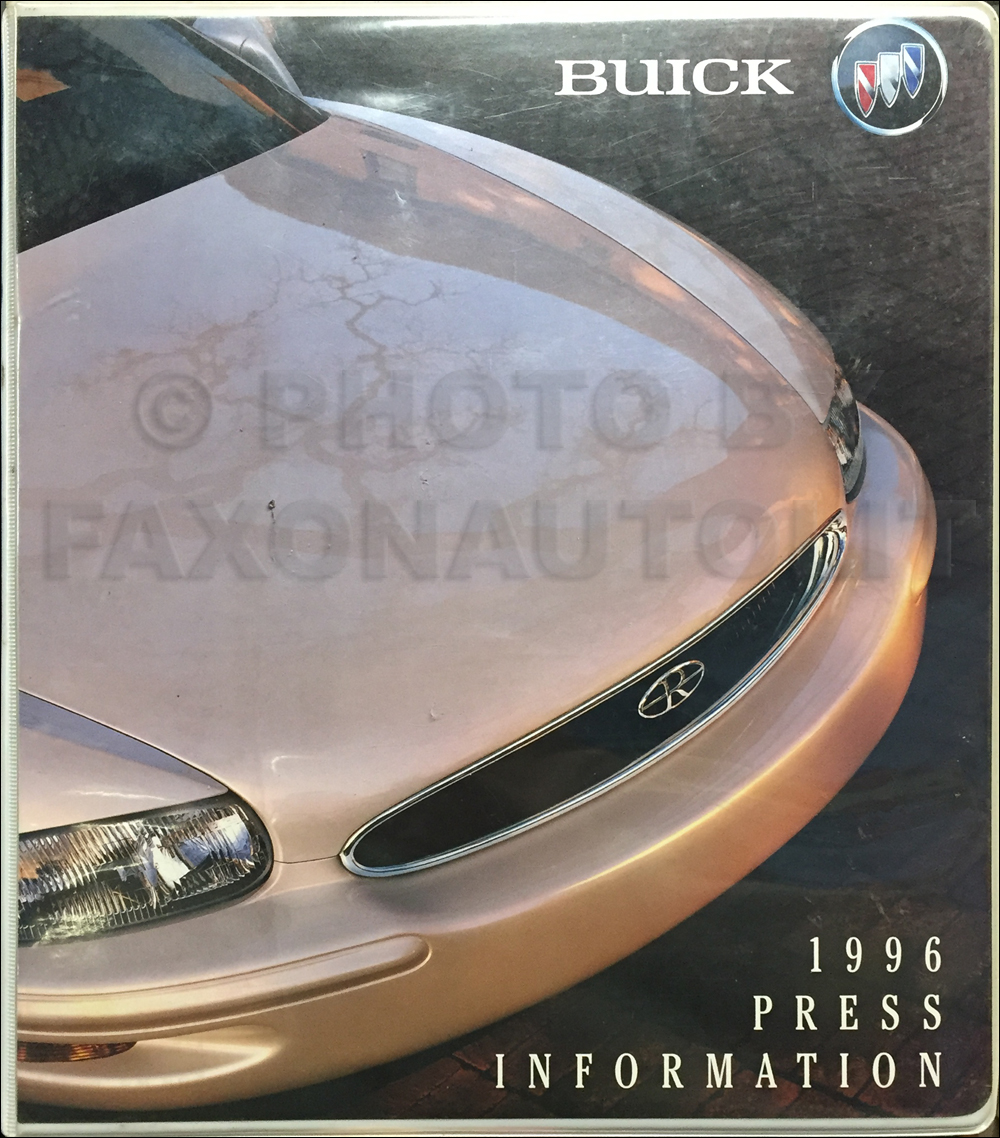 1996 Buick Press Portfolio With Photos Original