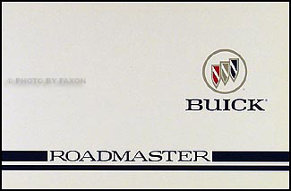1996 Buick Roadmaster Original Owner's Manual