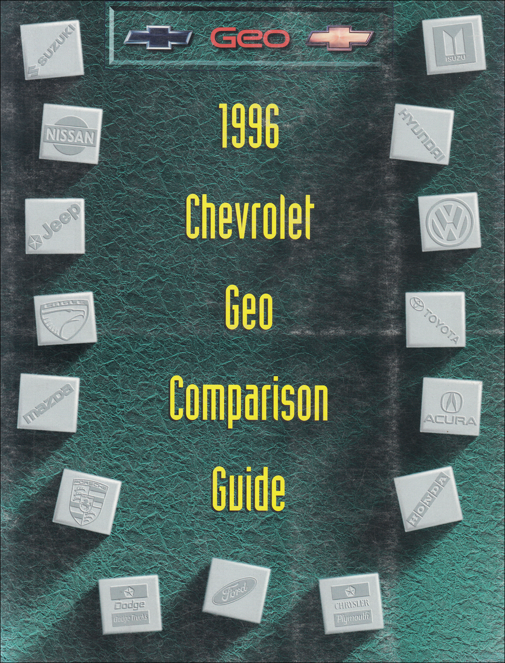 1996 Chevrolet Competitive Comparison Dealer Album Original
