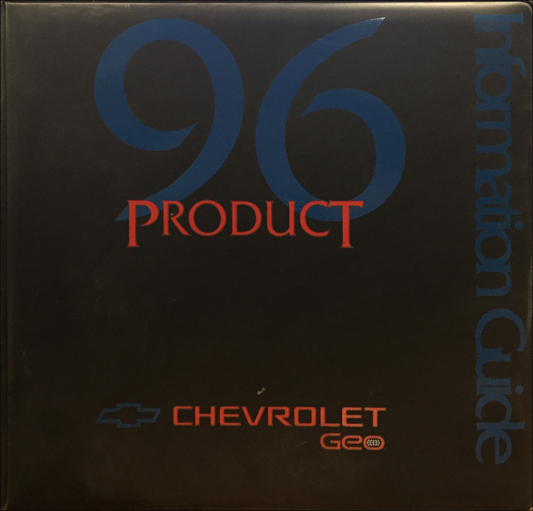 1996 Chevrolet Press Kit Original