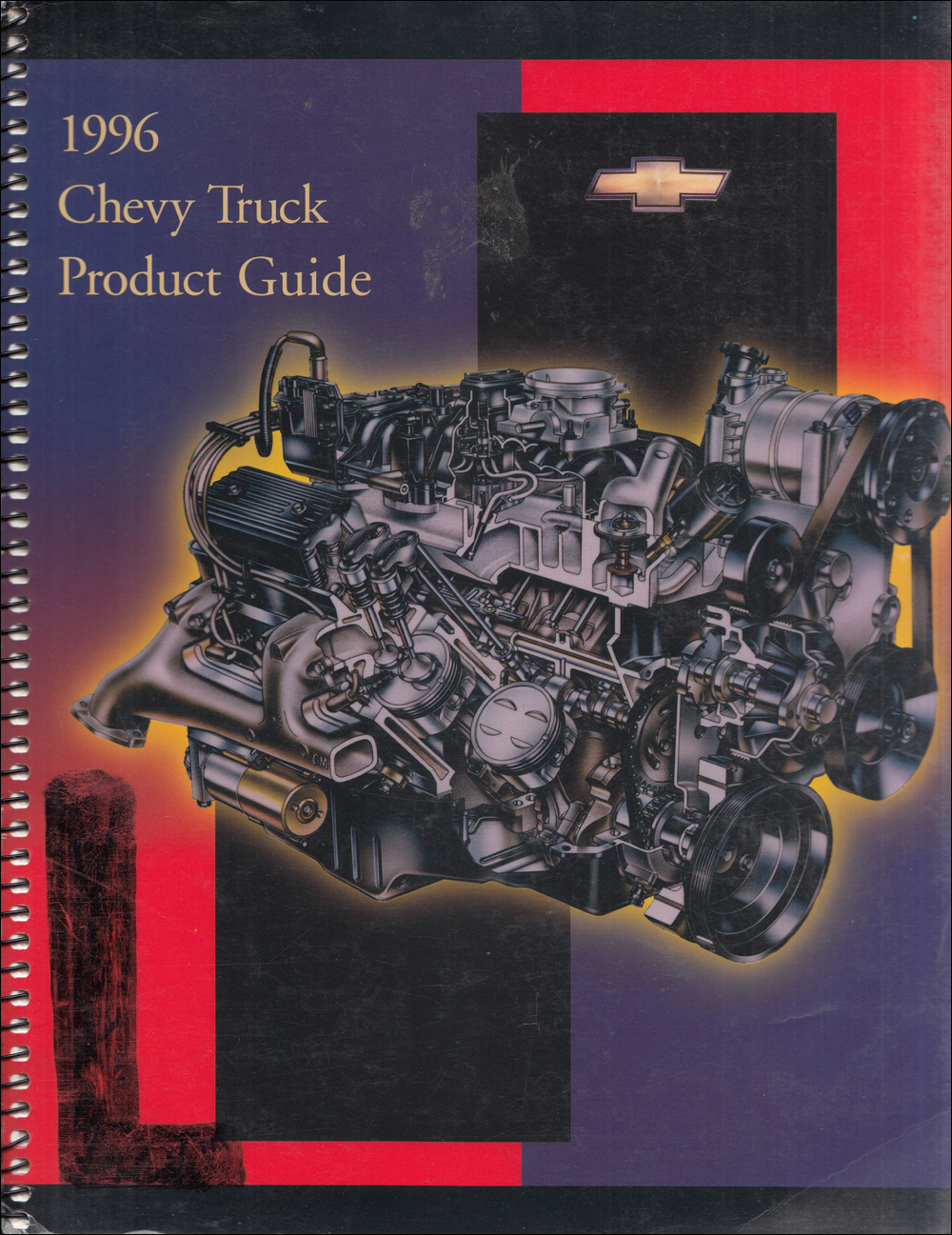 1996 Chevrolet Truck Data Book Dealer Album Original
