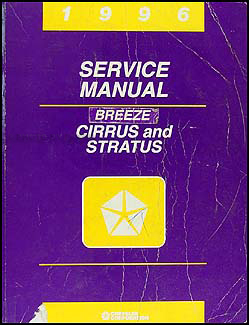 1996 Cirrus, Stratus, & Breeze Shop Manual Original