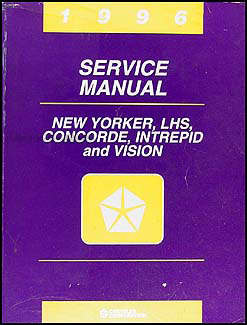 1996 Vision, Concorde, LHS, New Yorker, Intrepid Repair Shop Manual Original