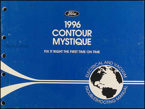 1996 Ford Contour Mercury Mystique Electrical Troubleshooting Manual