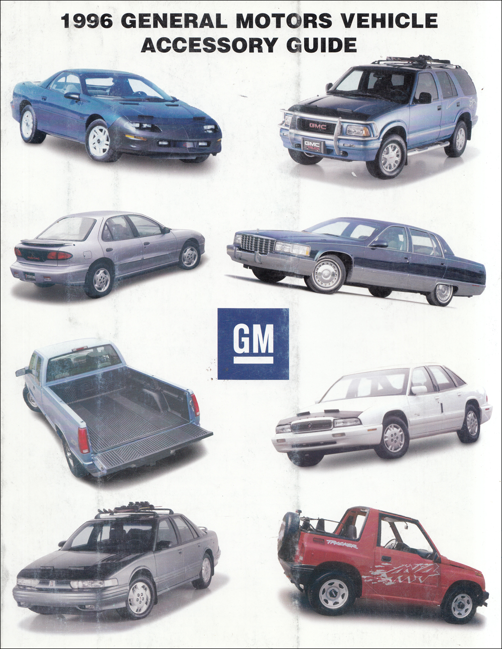 1996 GM Dealer Installed Accessory Ordering Guide Original