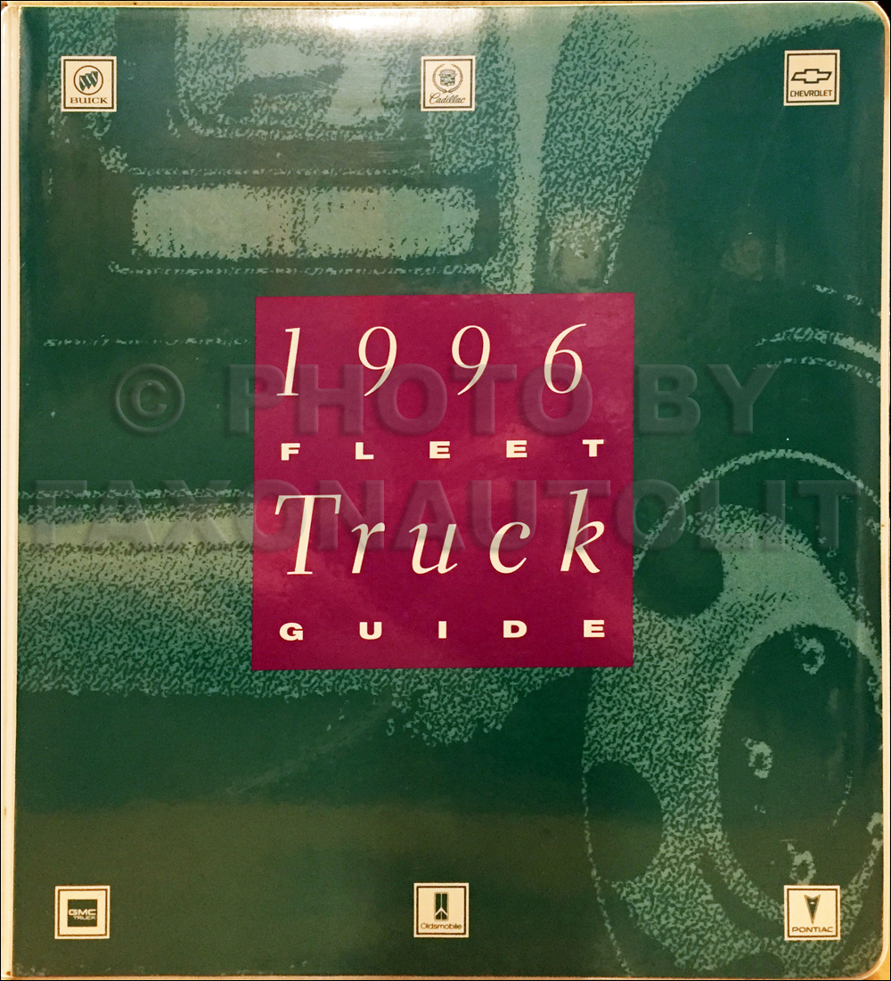 1996 General Motors Truck Fleet Buyers Guide Dealer Album Original GM