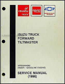 1996 NPR & W4 Gas Repair Manual Original