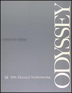 1996 Honda Odyssey Electrical Troubleshooting Manual Original