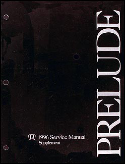 1996 honda prelude repair shop manual supplement original rh faxonautoliterature com 2000 Honda Prelude 92-96 honda prelude service manual.pdf