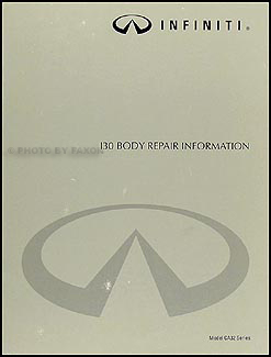 1996-1999 Infiniti I30 Body Repair Manual Original