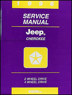 1996 Jeep Cherokee Original Shop Manual