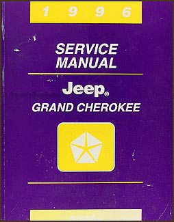 1996 Jeep Grand Cherokee Repair Manual Original