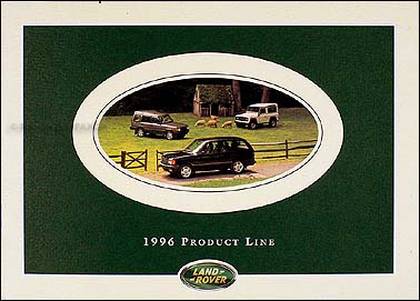 1996 Land Rover Original Sales Catalog Range/Discovery/Defender