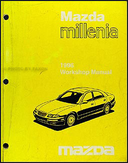 1996 Mazda Millenia Repair Manual Original