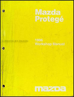 1996 Mazda Protege Repair Manual Original