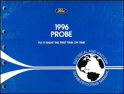 1996 Ford Probe Electrical & Vacuum Troubleshooting Manual Original