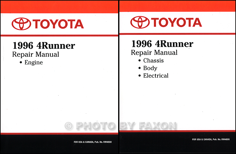 Diagram  2002 Toyota 4runner Service Shop Repair Manual