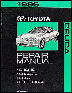 1996 Toyota Celica Repair Manual Original