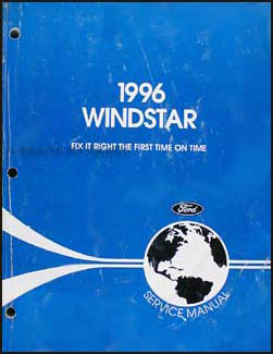 1996-1997 Ford Windstar Repair Manual Original