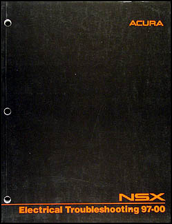 1997-2000 Acura NSX Electrical Troubleshooting Manual Original