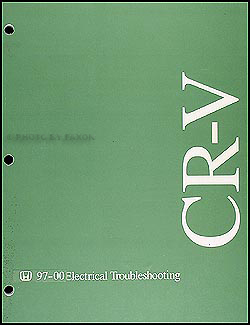 1997-2000 Honda CR-V Electrical Troubleshooting Manual Original
