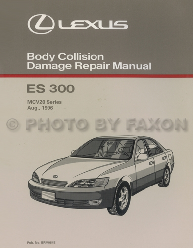 1998 lexus es 300 wiring diagram manual original 1998 Oldsmobile Bravada Wiring Diagram 2003 2009 lexus gx 470 body collision repair manual original