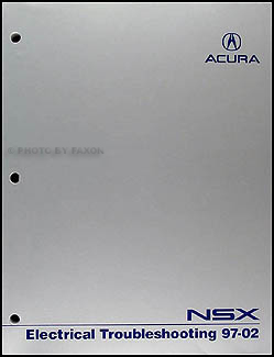 1997-2002 Acura NSX Electrical Troubleshooting Manual Original