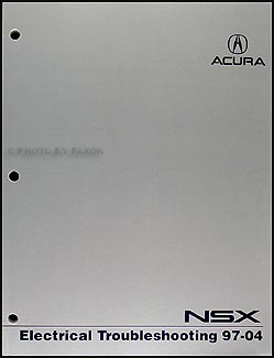 1997-2004 Acura NSX Electrical Troubleshooting Manual Original
