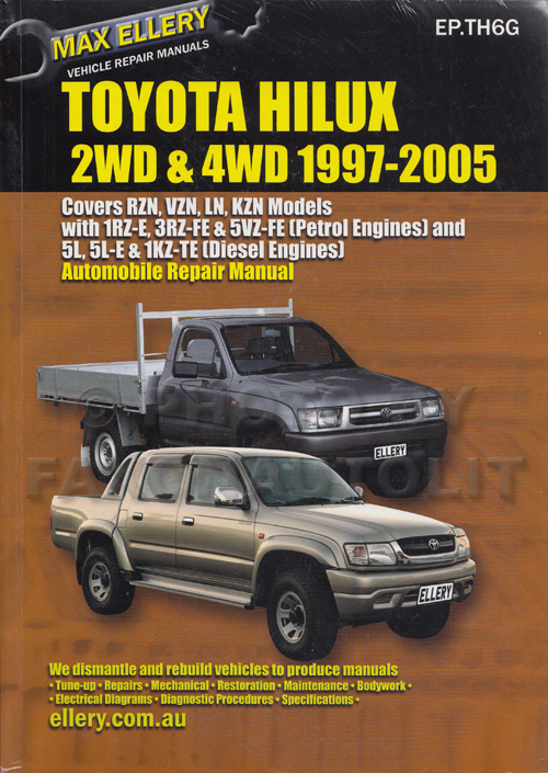 1996 Toyota 4Runner Repair Manual Original