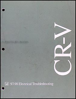 1997-1998 Honda CR-V Electrical Troubleshooting Manual Original