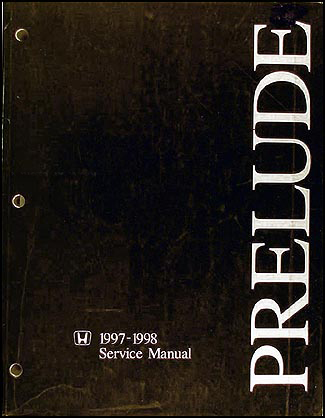 1997-1998 Honda Prelude Repair Manual Original